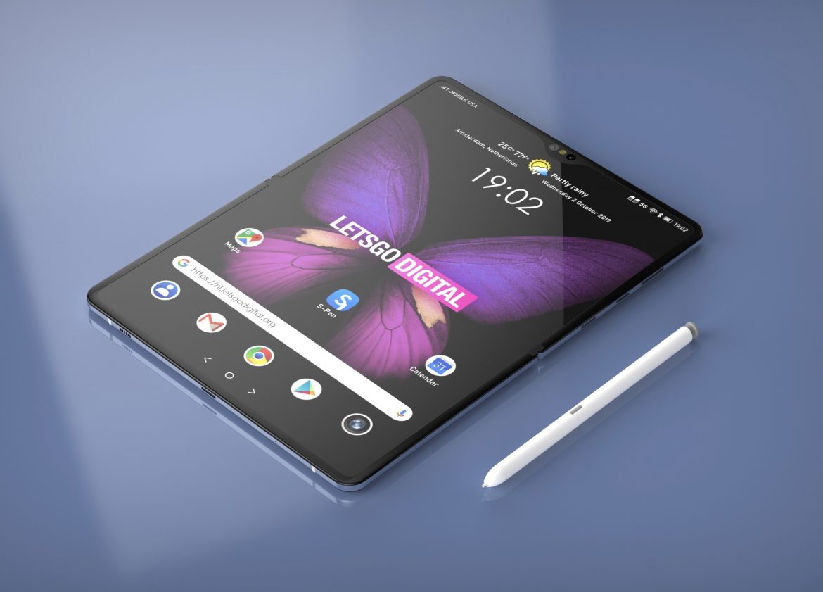 Samsung Has Planned an Exceptional S Pen for Its Foldable Telephones